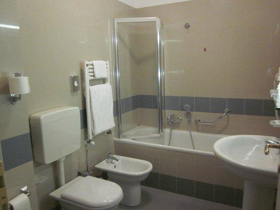 Mazzanti : μπάνιο μονόκλινου δωματίου