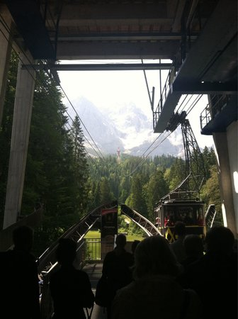 Zugspitze: Germany side lift
