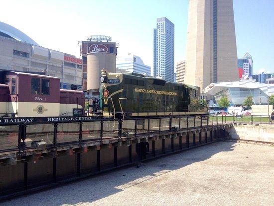Toronto Railway Museum: Treno