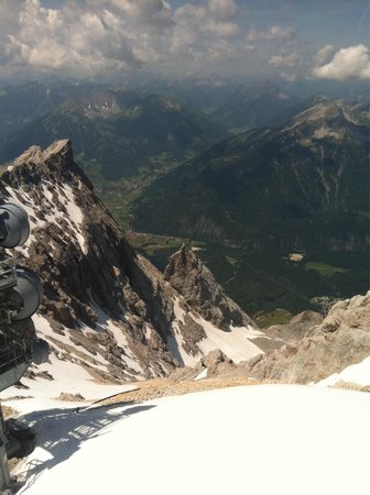 Zugspitze: View from the top