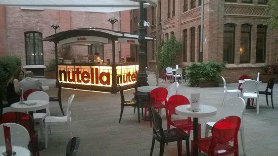 Hilton Molino Stucky Venice Hotel: кафе