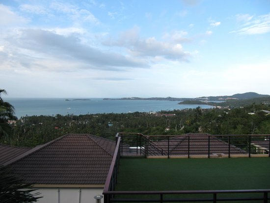 Mantra Samui Resort: View from sun balcony