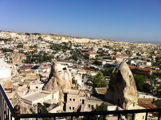 Arif Cave Hotel: Veduta dalla stanza panoramica