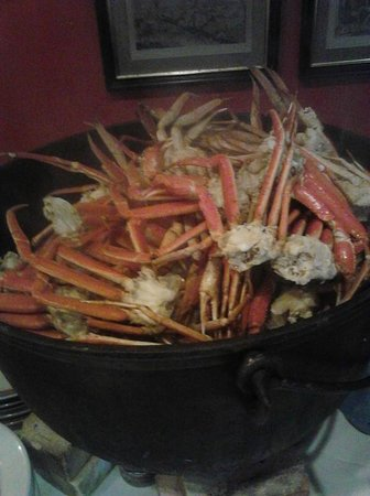 Natural Bridge Park Historic Hotel: dinner, YES Seafood buffet