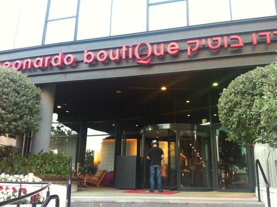 Leonardo Boutique Hotel Tel Aviv: EntranceV