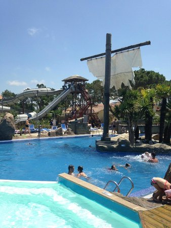 Plage derri re le camping picture of camping le vieux - Camping le vieux port plage sud 40660 messanges france ...