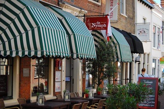 Brasserie Hotel de Nymph : Dat zie je niet veel meer.
