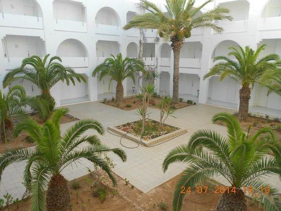 Djerba Plaza Hotel & Spa: Patio