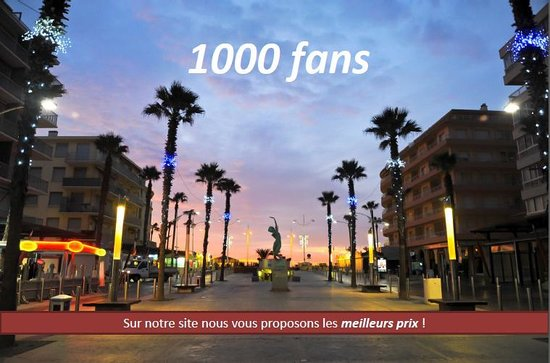 Hotel La Fregate : Hôtel La Frégate, 1000 fans