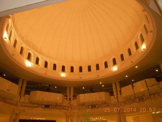 Djerba Plaza Hotel & Spa: Coupole du hall