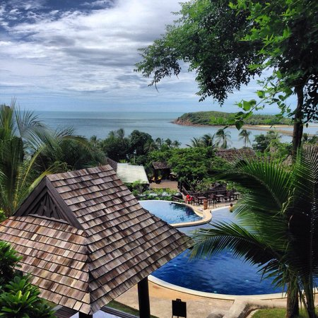 Bhundhari Spa Resort & Villas Samui : View from our room