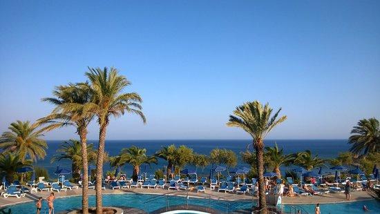 Rodos Princess Beach Hotel: La vista sul mare
