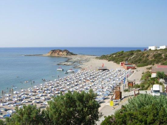 Rodos Princess Beach Hotel: La spiaggia del villaggio