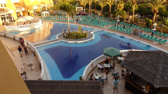 Hotel Chatur Playa Real : A view from our balcony