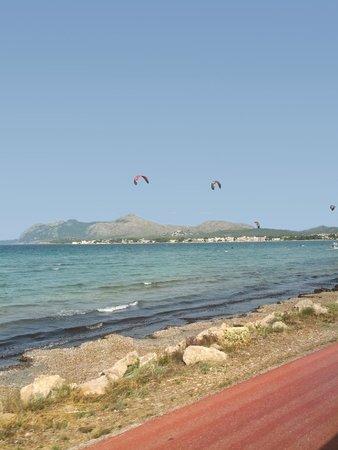 IBEROSTAR Playa de Muro Village: по дороге в Плайя де Муро