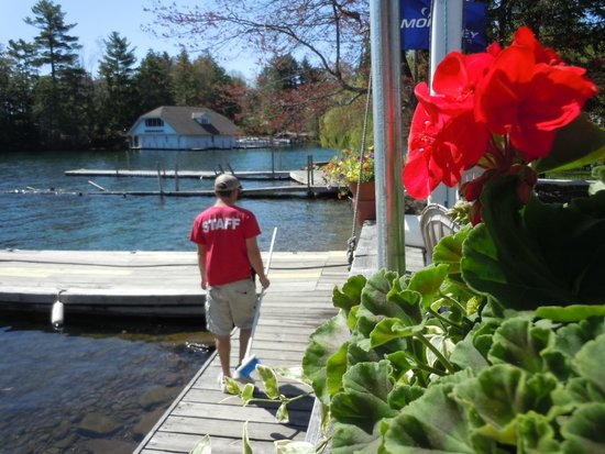 Yankee Boating Center Marina on Lake George, Diamond Point NY