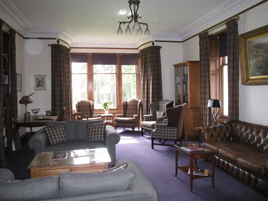 Dalrachney Lodge Hotel: Drawing Room