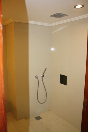 Inna Grand Bali Beach Hotel: new showers no climbing over the bathbath