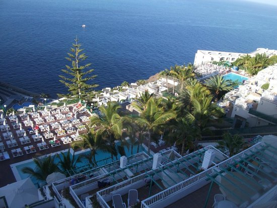 Hotel Altamar: view from our room