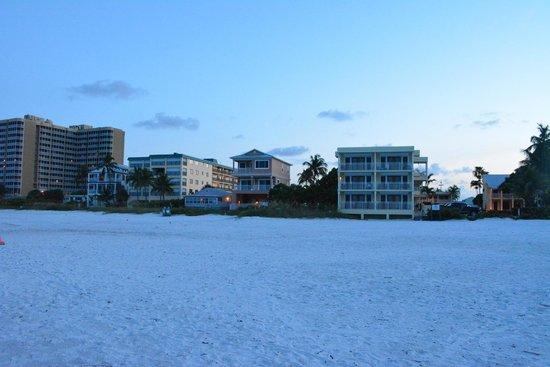 The Neptune Resort : from the beach
