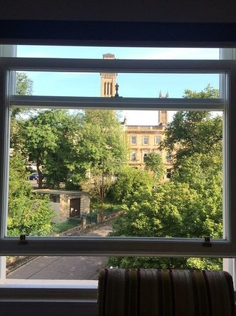 Acorn Hotel: window view