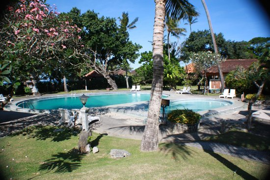 Inna Grand Bali Beach Hotel: view from cottage 2504