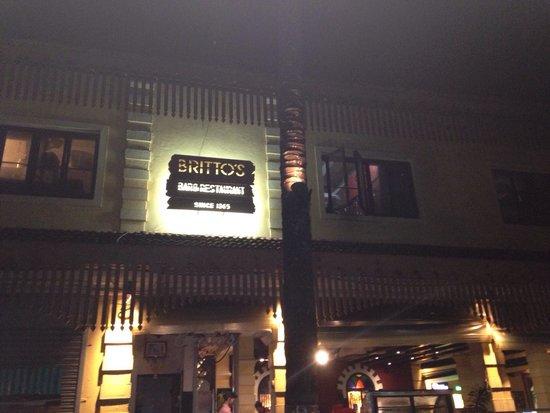 Britto's: Very good location