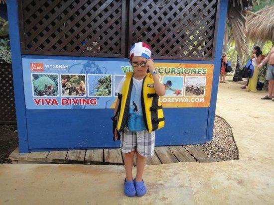 Viva Wyndham Dominicus Beach: snorkeling