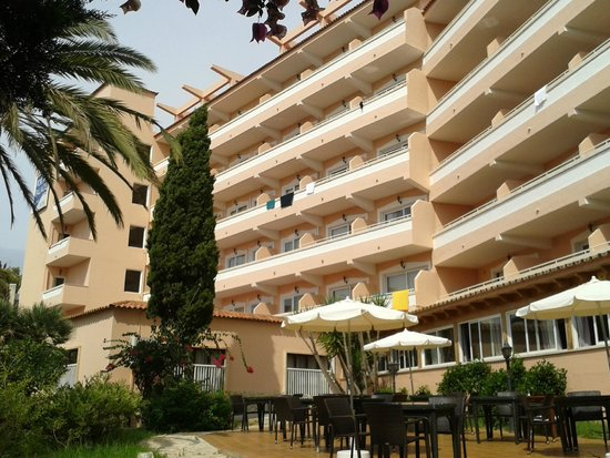 Portals Palace Hotel : façade hotel