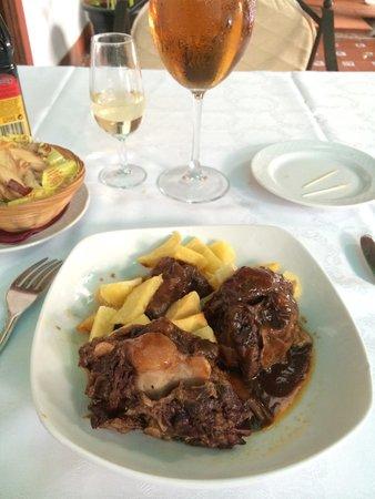 Restaurante Casa Palacio Bandolero : Rabo de Toro