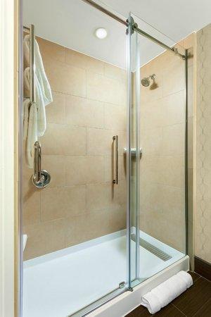 Hilton Garden Inn Washington DC / Georgetown Area: Standard Shower Guest Bathroom