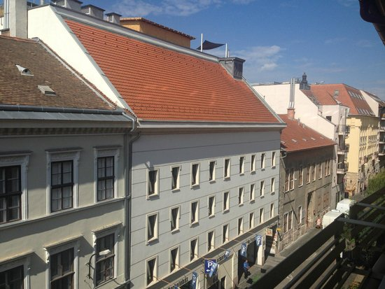 InnerCity Apartments: View from the balcony
