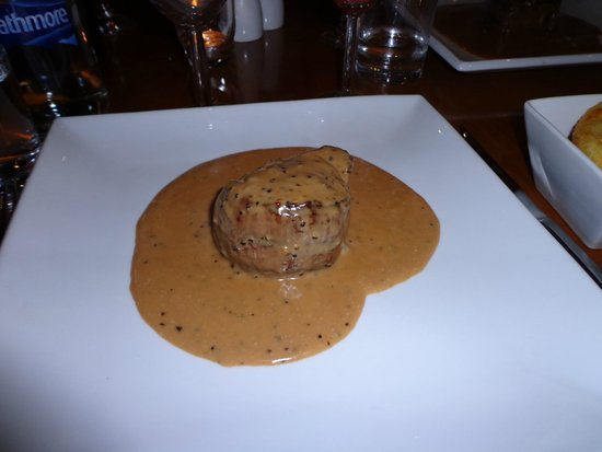La Pergola: Steak in Peppercorn Sauce