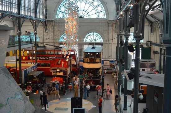 London Transport Museum : More views from the rafters
