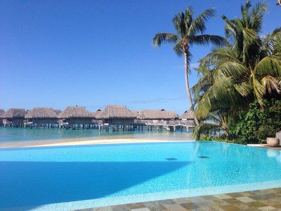 Sofitel Moorea Ia Ora Beach Resort : Piscina!