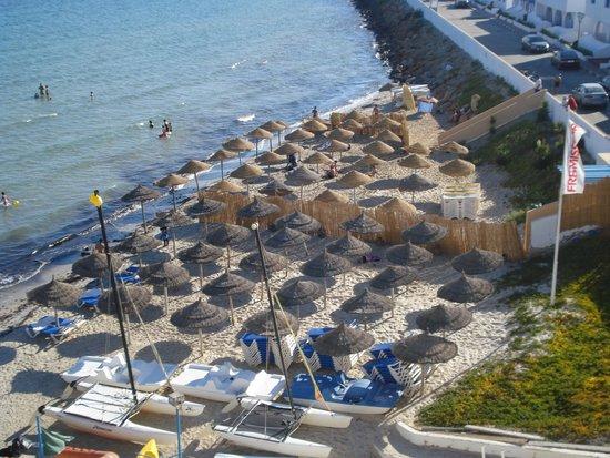 Regency Hotel and Spa : vue de la chambre sur plage