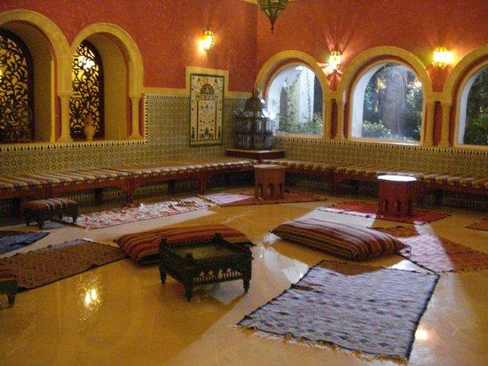 Regency Hotel and Spa : salon detente