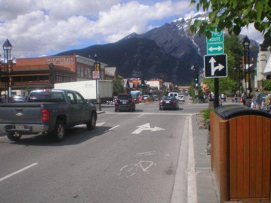 Mount Royal Hotel: de straat waaraan het hotel ligt