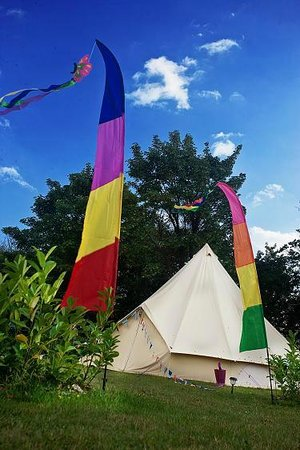Kits Coty Glamping: Festival view