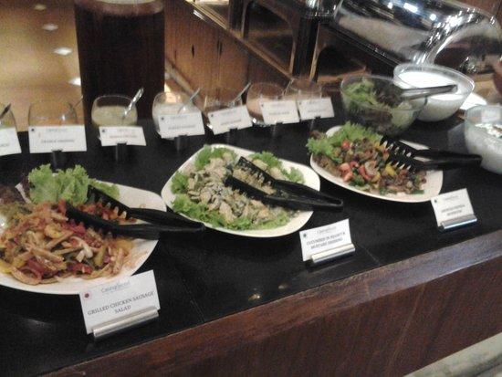 buffet salad bar picture of tharavadu restaurant kochi. Black Bedroom Furniture Sets. Home Design Ideas