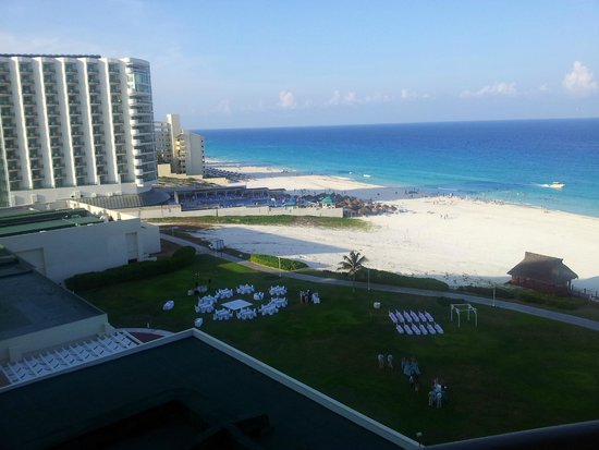 Iberostar Cancun: view from room 624