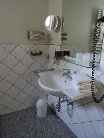 Hotel Deutscher Hof: Shower room