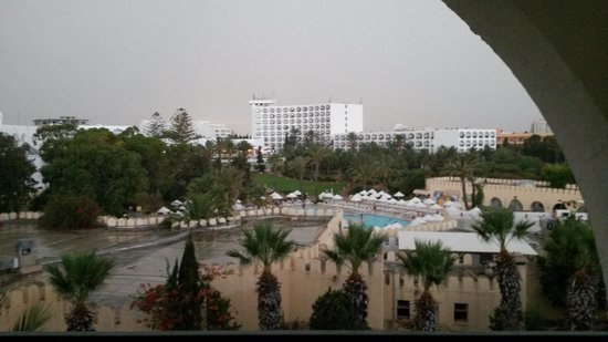 Hotel Marhaba Beach: view from our room