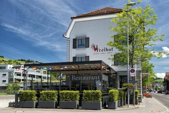 Hotel Freihof Aussenansicht