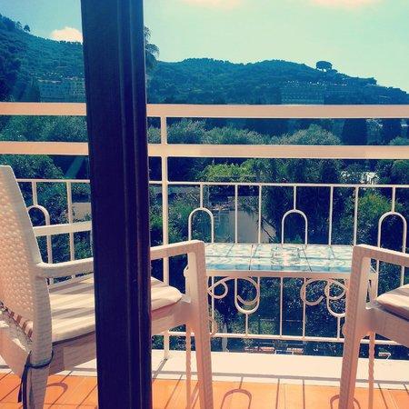 Hotel Regina Sorrento: Our incredible view!