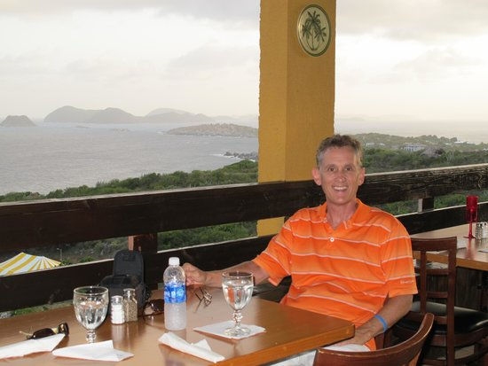 Rosewood Little Dix Bay: Eating at the Mine Shaft