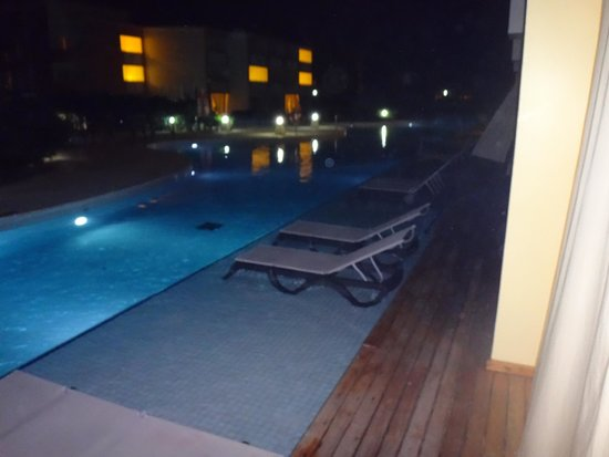 TRS Turquesa Hotel: swim up pool outside your suite