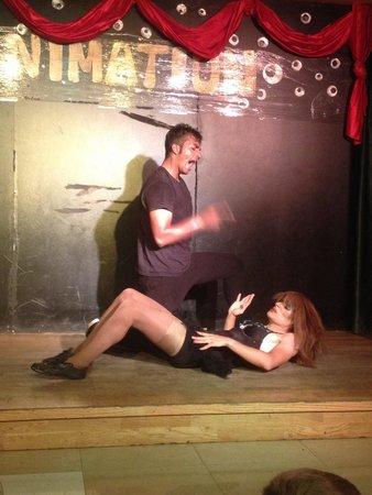 Hotel Costa Caleta : Gabi&Fran 2 of the entertainers Incredible shows
