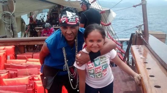 Puerto Vallarta Pirate Tours: Barracuda grrrrr
