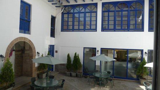 Tierra Viva Cusco Centro: Varanda